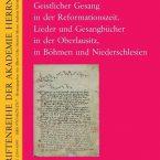 """NEUERSCHEINUNG: """"Geistlicher Gesang in der Reformationszeit."""""""